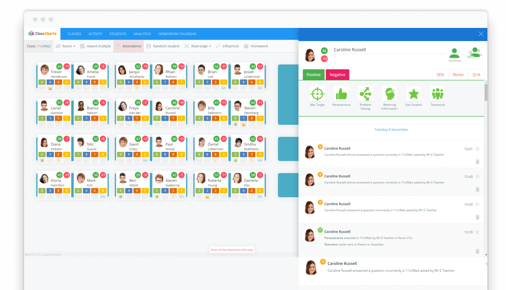 School Seating Planner & Behavior Management Software ...